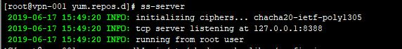 CentOS/RHEL 下安装 Shadowsocks 服务端